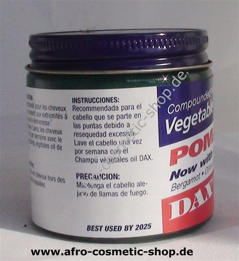 Pomade Dax dax 174 vegetable pomade 3 5 oz afro cosmetic shop