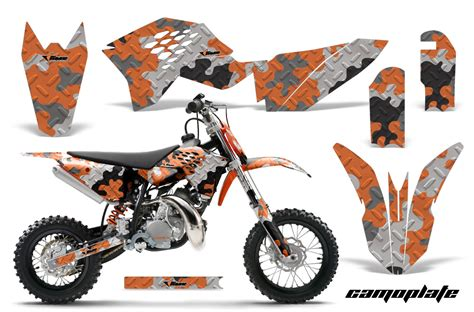 Ktm Decals 2009 2015 Ktm Sx50 Graphics Kit 40 Designs