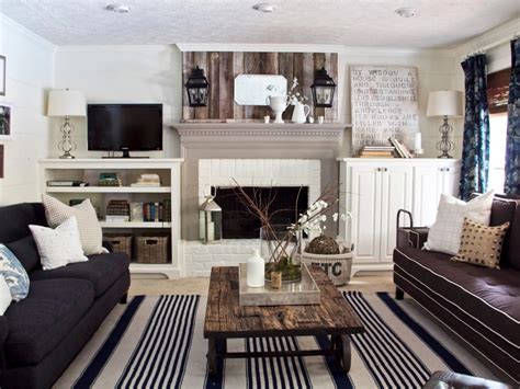 Cottage Livingrooms 16 distressed furniture pieces you ll want in your home hgtv