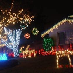 severns pease christmas light display closed local