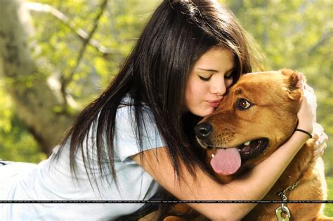 selena gomez puppy selena gomez images selena hd wallpaper and background photos 11202652
