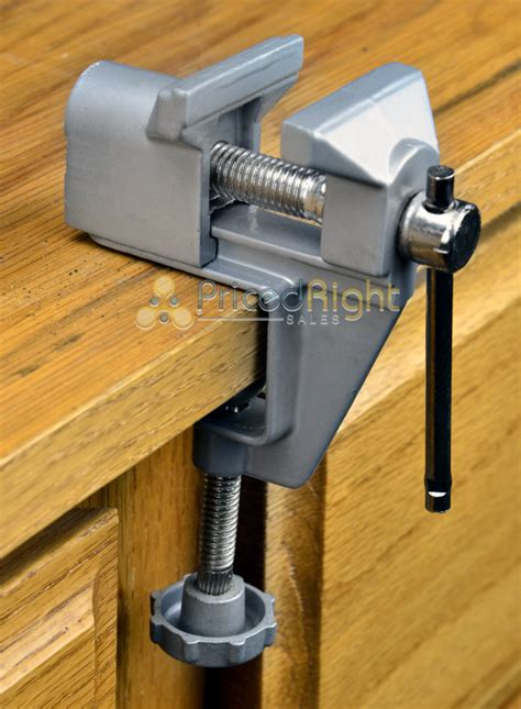 mini bench vice mini bench vise table swivel lock cl vice craft hobby