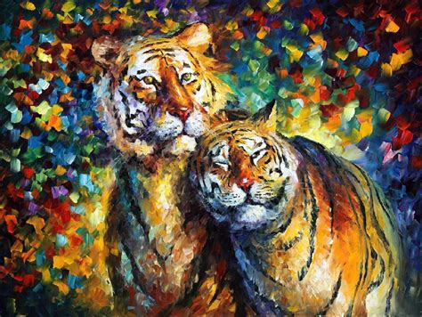 sweetness 2 palette knife painting on canvas by