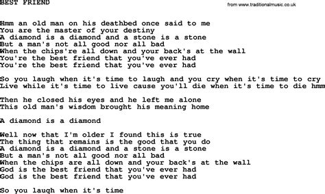 best johnny lyrics johnny song best friend lyrics