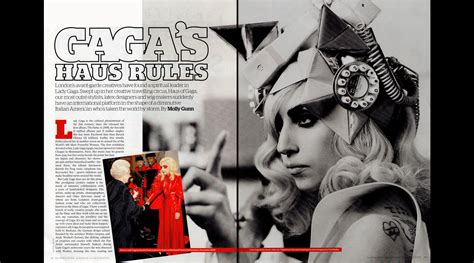 magazine layout latex atsuko kudo couture featured in es magazine