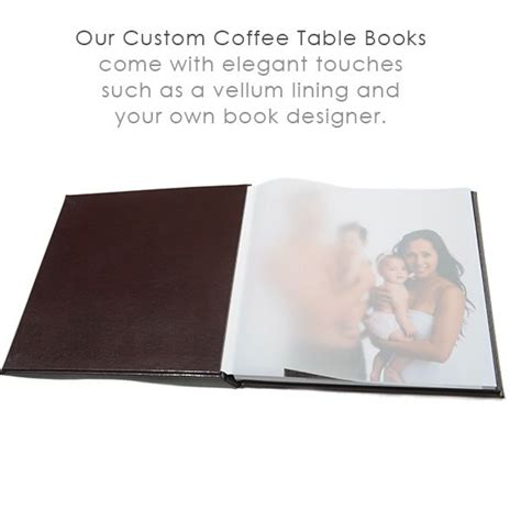 inside the custom coffee table book touches