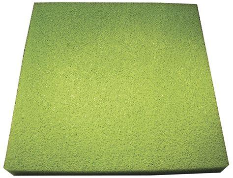 Busa Air Filter Saringan Filter Aquarium 38cm X 25cm filter media coarse filter sponge 38cm x 38cm green