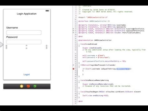 c tutorial application objective c tutorial creating an ios app for absolute