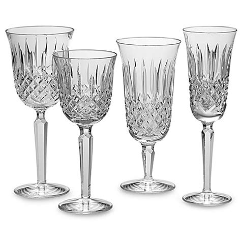 bed bath and beyond waterford waterford 174 kelsey crystal stemware and barware bed bath beyond