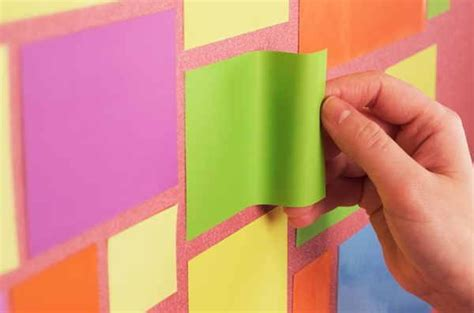 Magnetic Sticky Note Post It Tesla Amazing Peachy Size L 200 X 100mm these sticky notes use witchcraft instead of adhesive to stick to things the gadgeteer