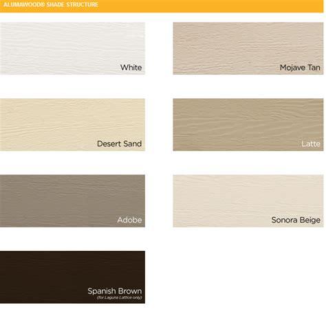 alumawood colors alumawood pergola design arizona living landscape design