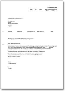 Muster Kündigung In Der Probezeit Arbeitgeber Dehoga Shop K 252 Ndigung Eines Auszubildenden W 228 Hrend Der Probezeit Kaufen