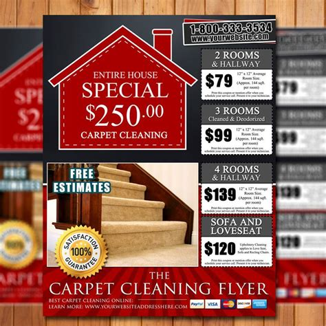 Carpet Cleaning Flyer Ideas
