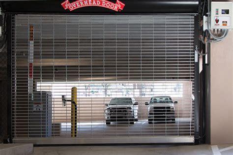 commercial garage door installation repair overhead