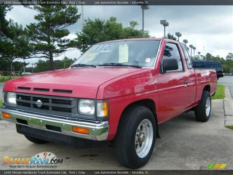 1990 nissan truck 1990 nissan hardbody truck extended cab gray photo