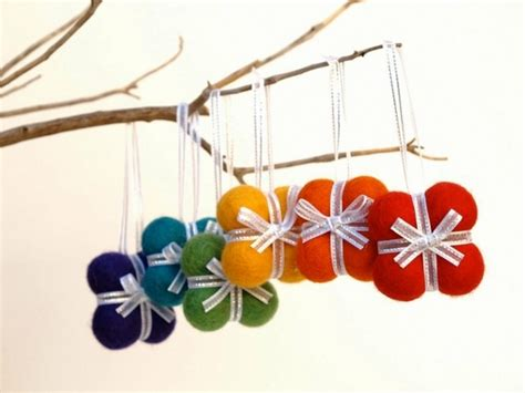 tree ornament crafts for felt ornaments awesome decoration for
