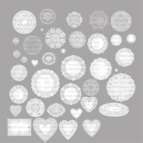 printable paper lace doilies 1000 images about doily on pinterest overlays shape