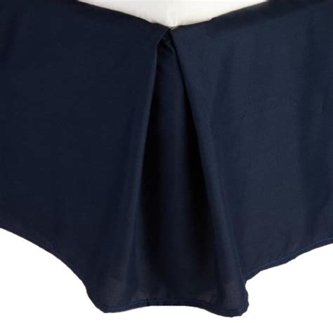 navy blue bed skirt combed twin size bed skirt solid dark blue navy 100