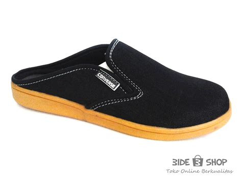 Lmbdr Sepatu Casual Hitam 5 Cm jual sepatu casual pria slip on hitam bustong converse