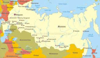 map of russia with cities rivers and mountains political map of russia