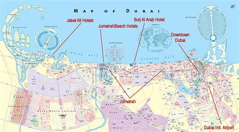 dubai map uae united arab emirates cities map