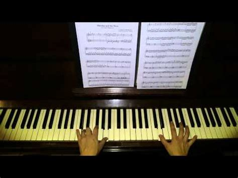 tutorial piano masha and the bear masha and the bear маша и медведь masha y el oso for
