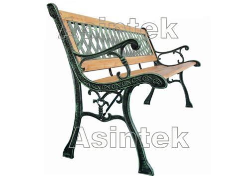 panchina ghisa e legno asintek panchina da giardino in legno e ghisa lavorata