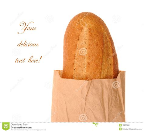 How To Make Paper Bread - bread in a paper bag stock photos image 19072663