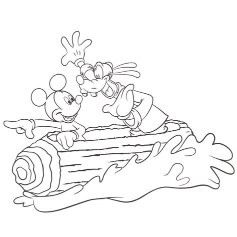 disneyland coloring pages splash mountain coloring pages disney