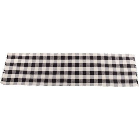 black and white buffalo check table runner buffalo check black table runner the patch