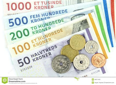 currency dkk kroner dkk stock photos image 36671403