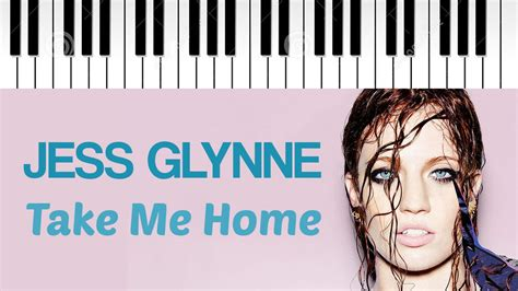 How One Sandwich Takes Me Home by Jess Glynne Take Me Home Piano Cover