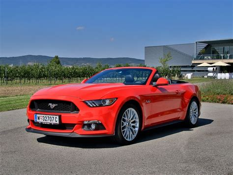 Mustang Auto Test by Ford Mustang V8 Cabrio Testbericht Auto Motor At