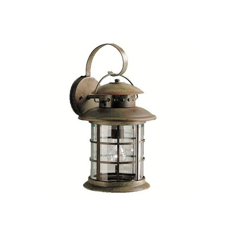 Kichler Outdoor Lighting Catalog Kichler 9761rst Rustic Rustic Collection 1 Light 18 Quot Outdoor Wall Light Lightingdirect