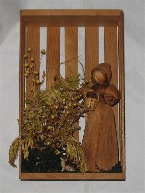 corn husk dolls nz vintage corn husk doll shadow box figurines