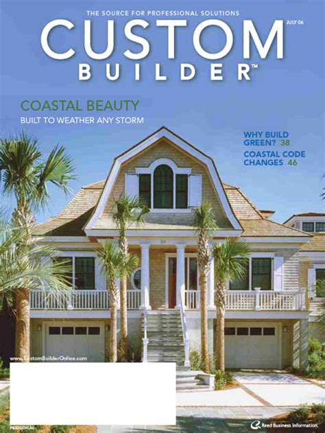 Custom Home Builder Magazine | free custom builder magazine the green head