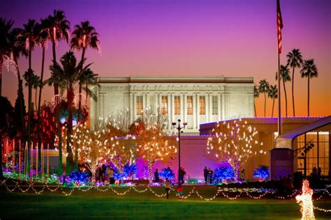 12 best arizona christmas light displays