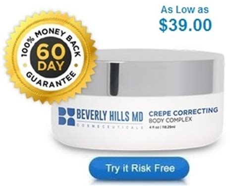 pictures on use of beverly hills md crepe correction cream body correcting complex crepe md beverly hills foto
