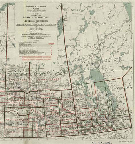 1 section of land file manitoba saskatchewan section of map showing the land