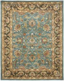 blue and brown area rug safavieh safavieh heritage hg812b blue brown area rug