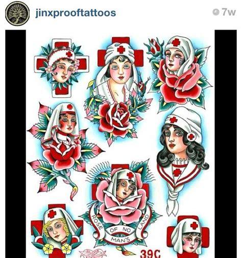 tattoo flash nurse flash nurse page traditional tattoo instagram