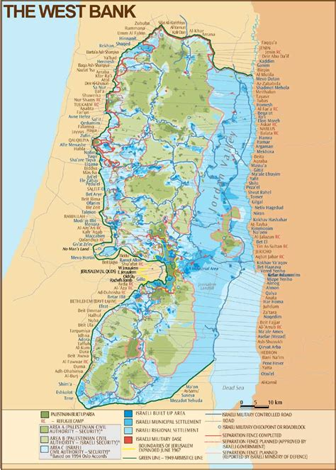 middle east map west bank west bank map 2003 cosmolearning history