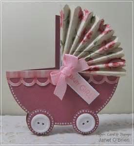 paper card sts baby pram card