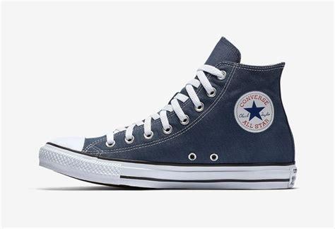 Converse Canvas Navy Blue Size 43 converse chuck all high top canvas