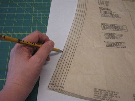 pattern tracing freezer paper using freezer paper as pattern pieces sewing sewing