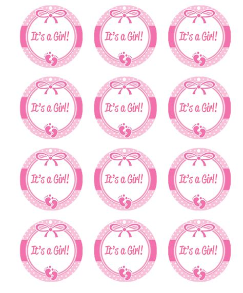 Baby Shower Topper by Toppers To Print Just B Cause