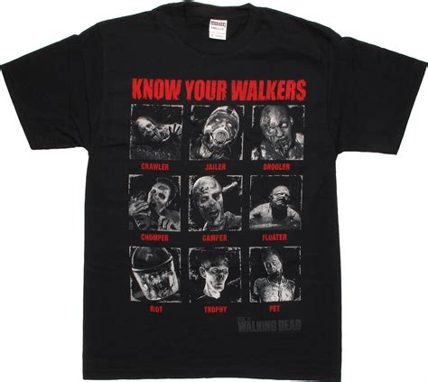walking dead t walking dead your walkers t shirt