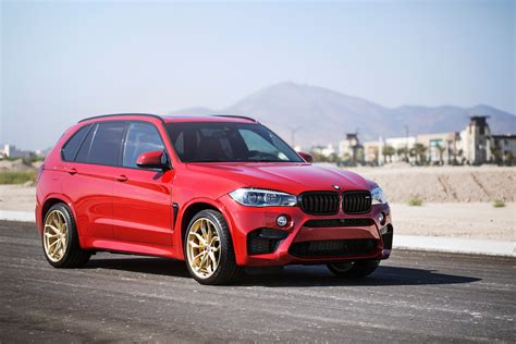 red bmw x5 melbourne red bmw x5 m with hre p201 wheels and carbon