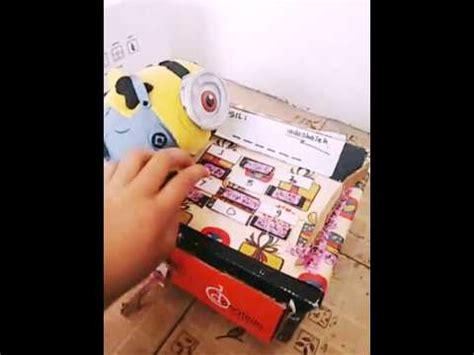 cara membuat mainan tradisional dari kardus cara bikin mainan dari kardus kreatif youtube