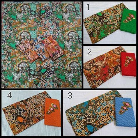 Kain Batik Printing Embos kain batik pekalongan batik printing motif semi tulis